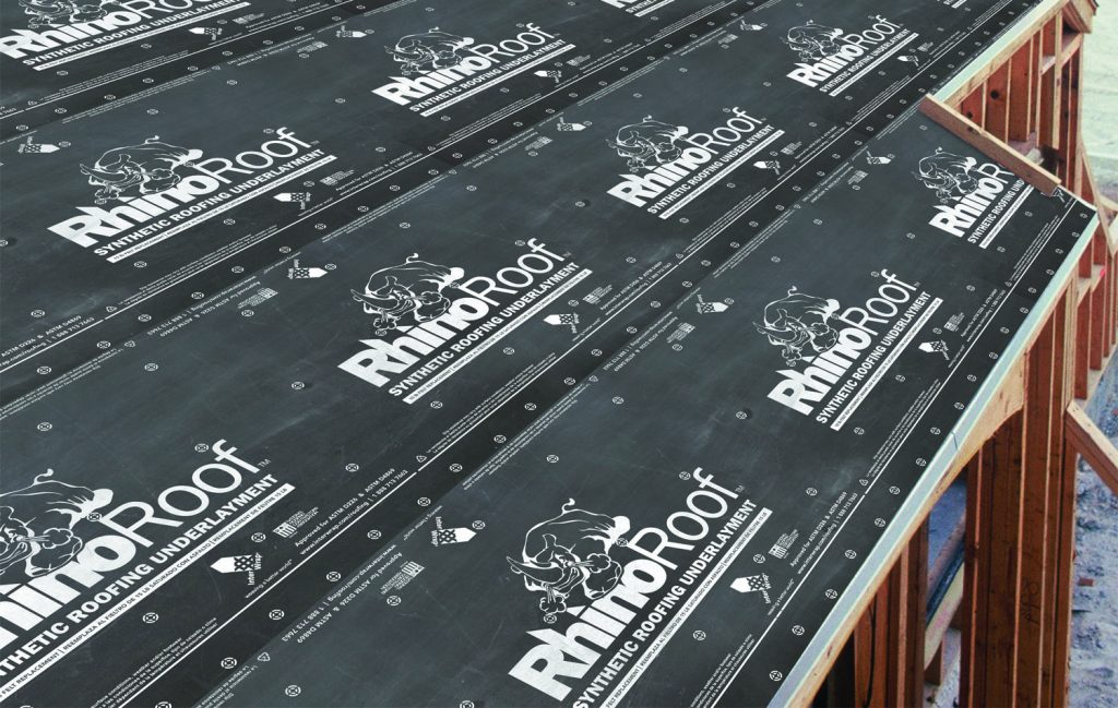 Roof Underlayment Lyons Roofing