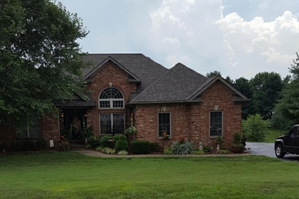 Storm Damage Results In New Roof Lyons Roofing