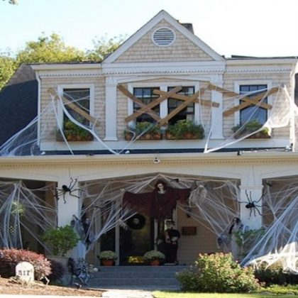 Decorate your roof for Halloween